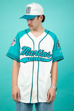 Load image into Gallery viewer, vintage marlins baseball tee. shop now. magichollow.