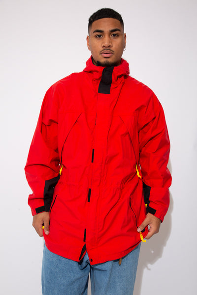 Marlboro jacket in a red colour-way. 90s vintage. magichollow.