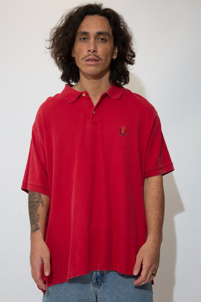 chaps shortsleeve polo. 90s vintage. magichollow.