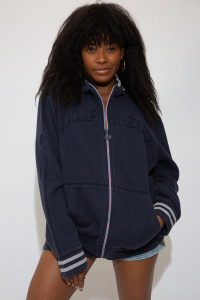 Tommy Zip Up Sweatshirt