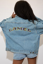 Load image into Gallery viewer, Camel Denim Jacket