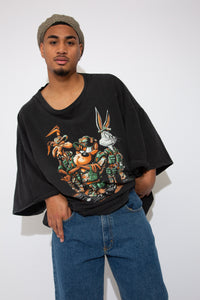looney tunes graphic tee. 90s vintage. magichollow.