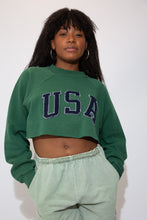 Load image into Gallery viewer, USA Cropped Sweater