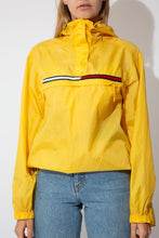 Load image into Gallery viewer, yellow tommy jeans by tommy Hilfiger windbreaker jacket