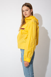 yellow tommy jeans by tommy Hilfiger windbreaker jacket
