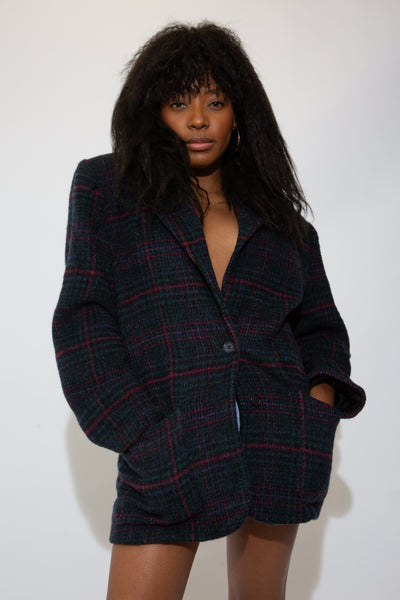 Plaid Woolrich Blazer
