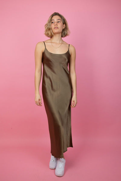 Penelope Silk Maxi Dress