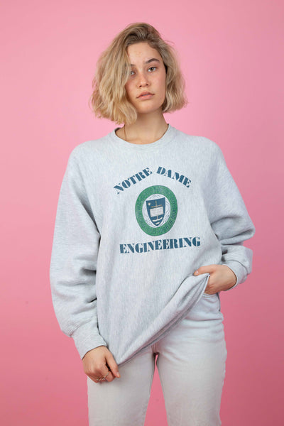 Notre Dame Engineering Sweater