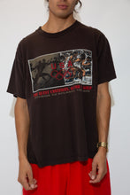 Load image into Gallery viewer, faded black tee with rectangular graphic from the 1996 atlanta olympic games