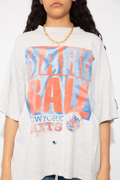 Distressed NY Mets Starter Tee