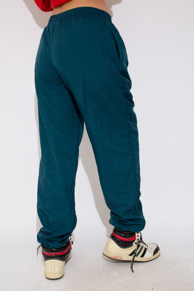 Model wearing reebok trackpants, magichollow