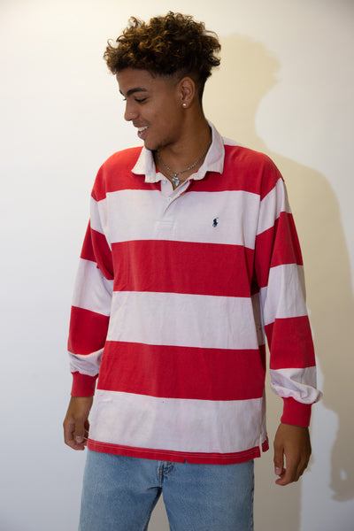 Distressed Ralph Lauren Rugby