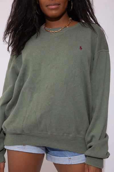 Green Polo Ralph Lauren Sweater