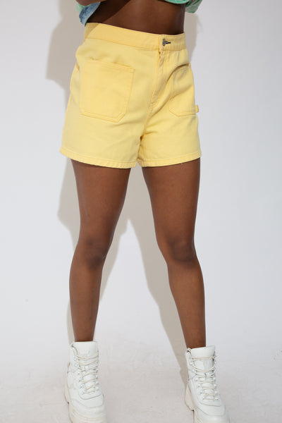Yellow Tommy Hilfiger Shorts