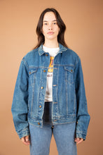 Load image into Gallery viewer, model wearing Clavin Klein Denim Jacket, magichollow
