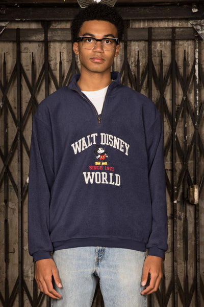Mickey Fleece Quarter-zip