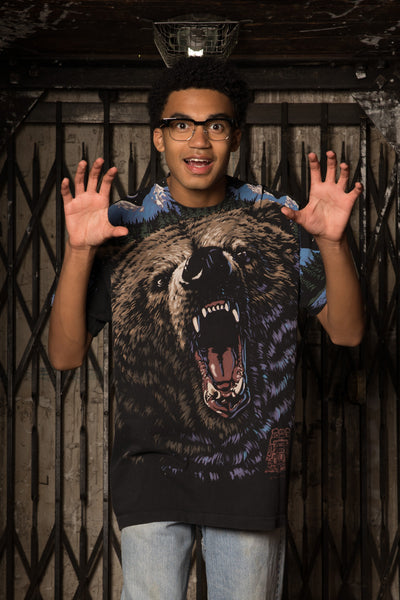 Liquid Blue Bear Tee