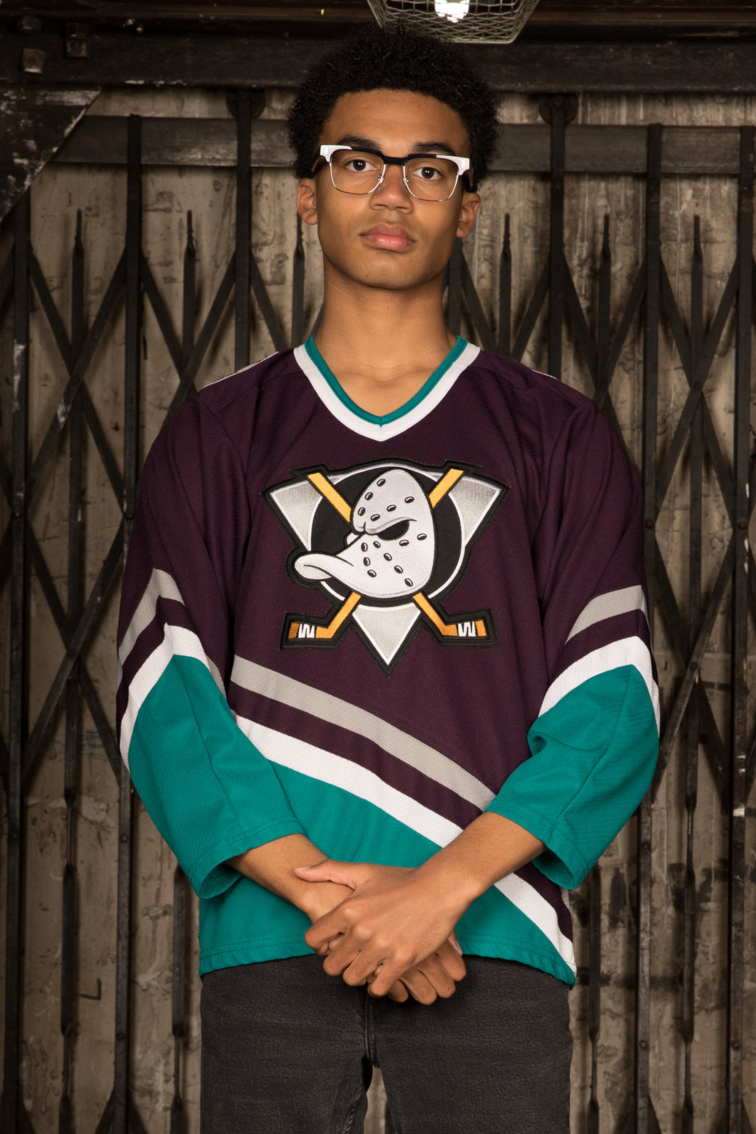 Mighty Ducks Ice Hockey Jersey