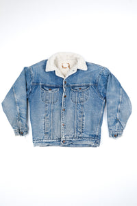 Roebucks Sherpa Denim Jacket