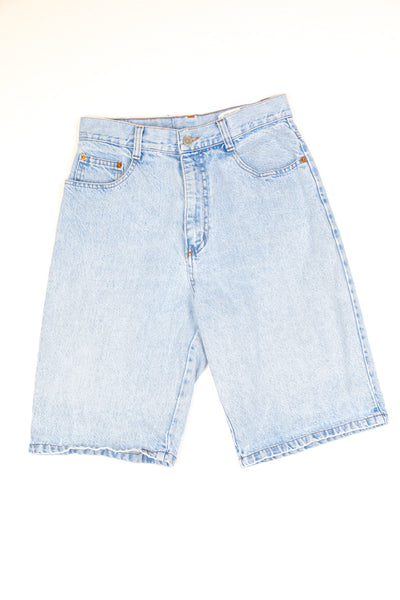 Steel Denim Shorts