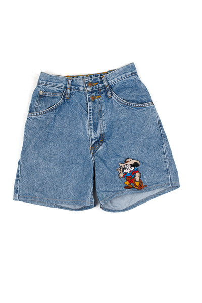 Cowboy Mickey Denim Shorts