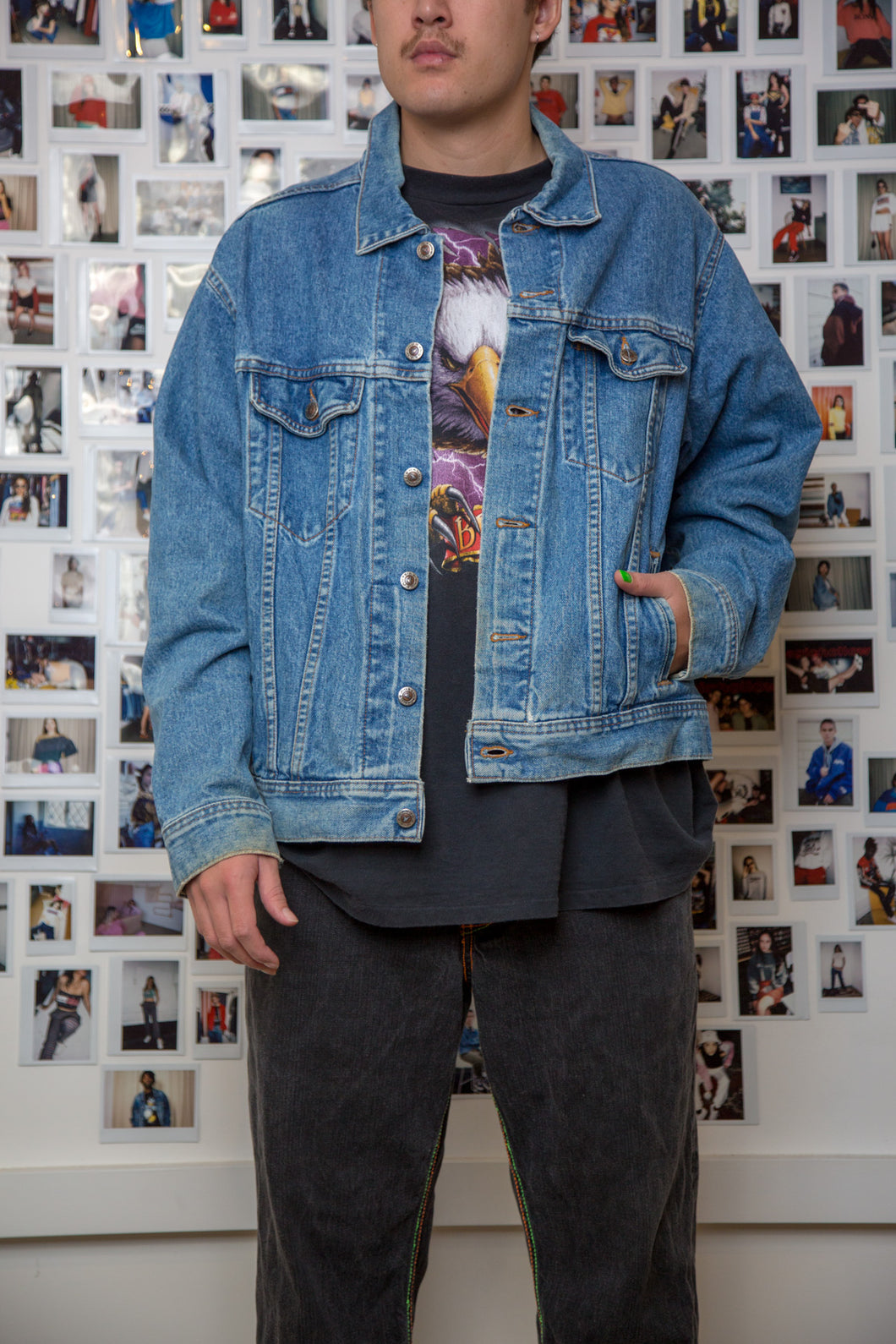 Forest Denim Jacket