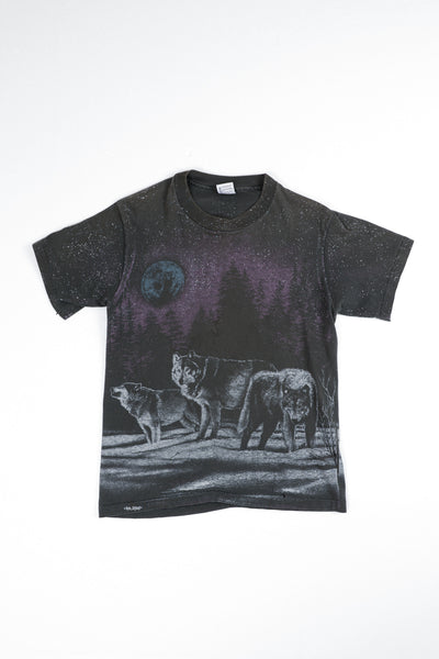 Speckled Wolf Tee