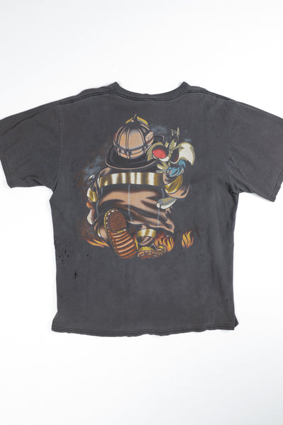 1996 Distressed Taz Tee