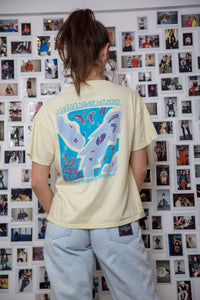 1989 Distressed So Cool Blue Tee