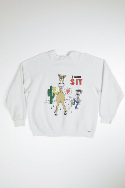 1991 Sit not Sh*t! Sweater
