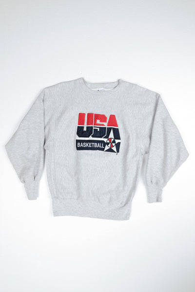 1980s Champion USA Basketball Sweater