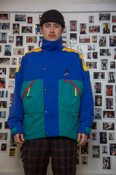 Multi Coloured North Face Jacket