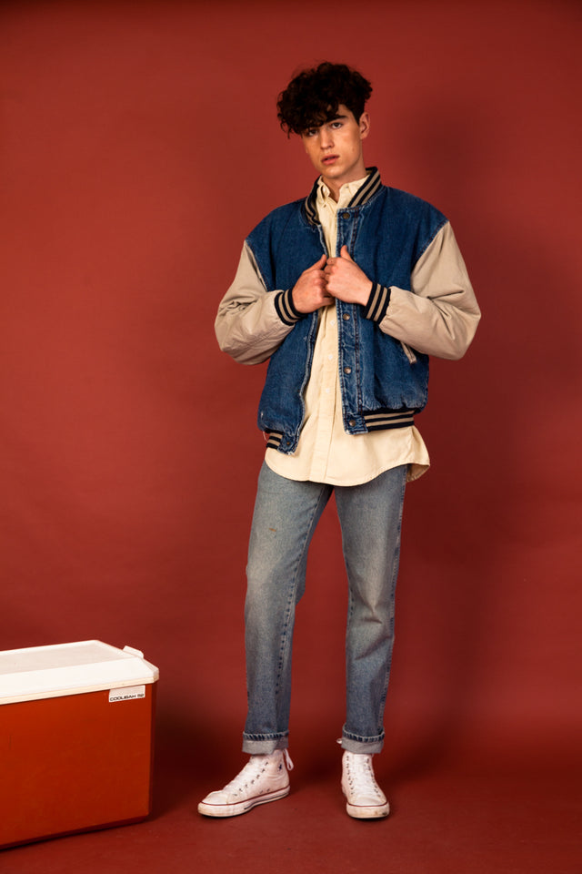 Resolute Denim Bomber