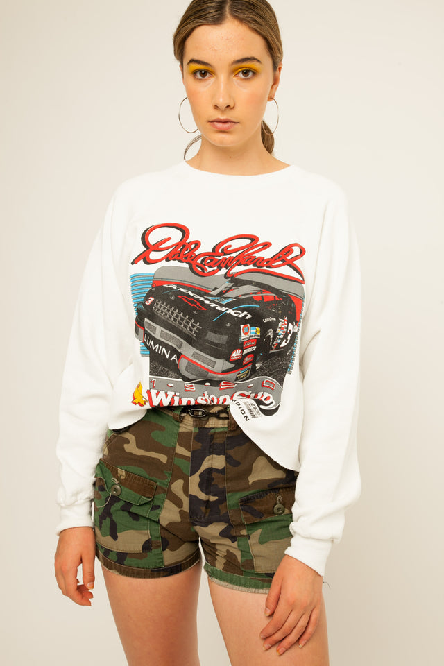 Winston Racing Cropped Sweatshirt