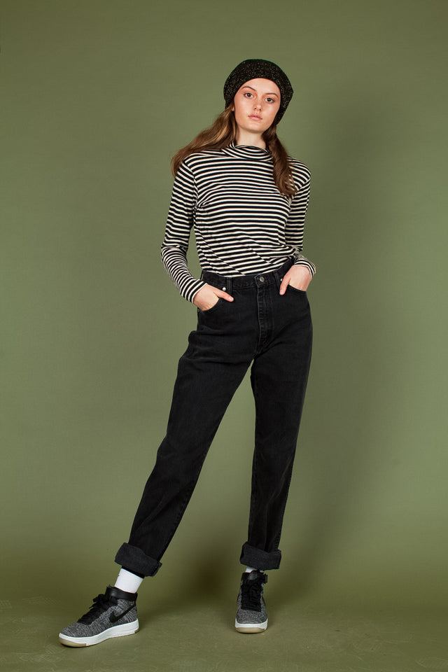 Tommy Cropped Turtleneck