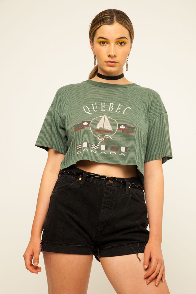 Quebec Cropped Tee