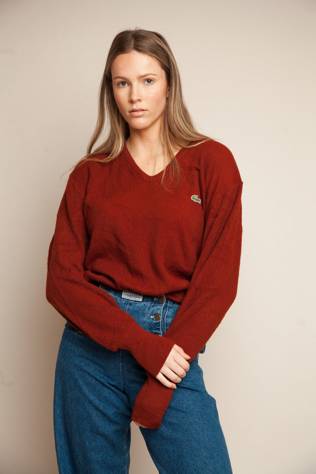 Lacoste Slouchy Knit