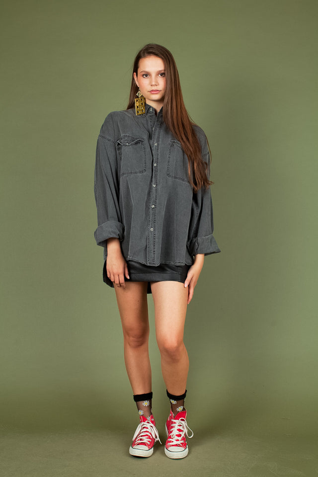 Brittannia Button Up