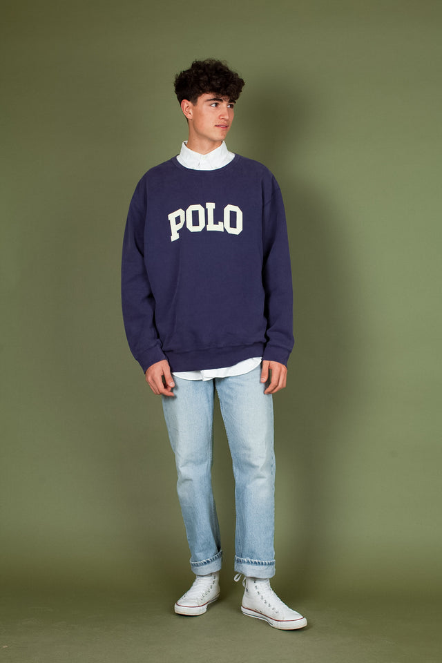 Polo Letter Sweater