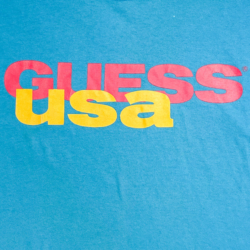 Single Stitch Guess USA Tee