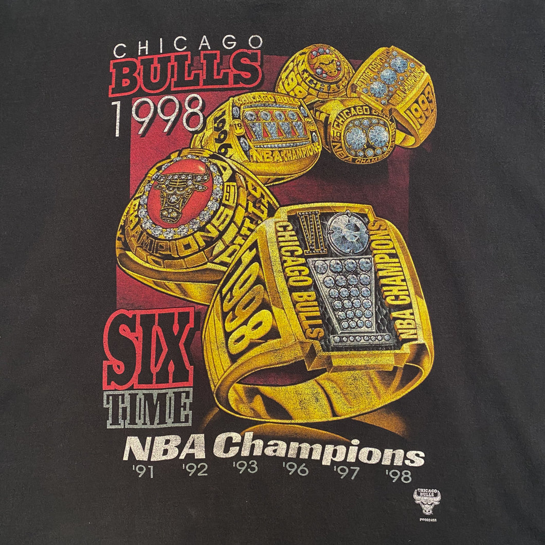 1998 Chicago Bulls Rap Tee