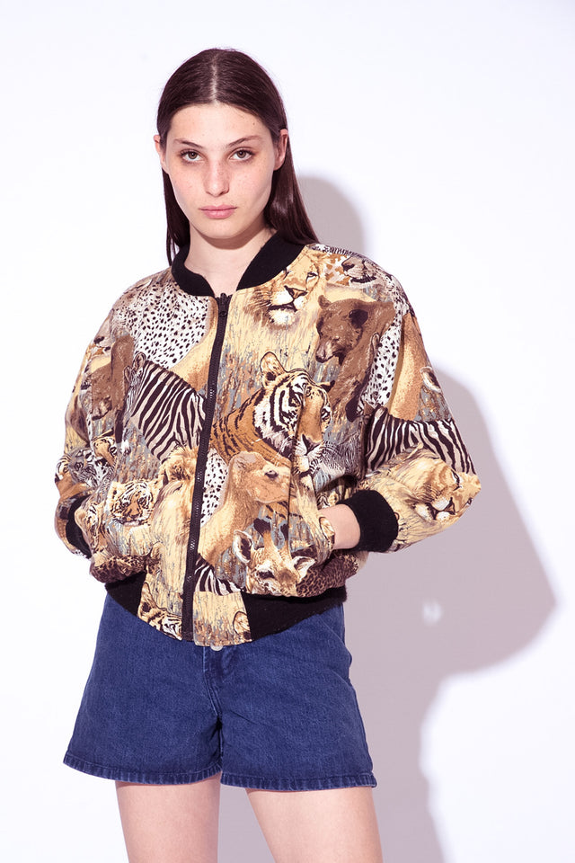 Wild Cats Reversible Bomber