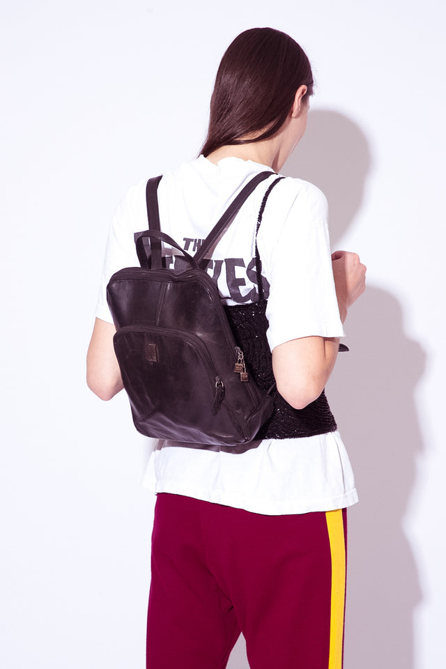 Perlina Leather Backpack