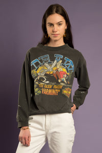 Distressed '93 Harley Davidson Sweater