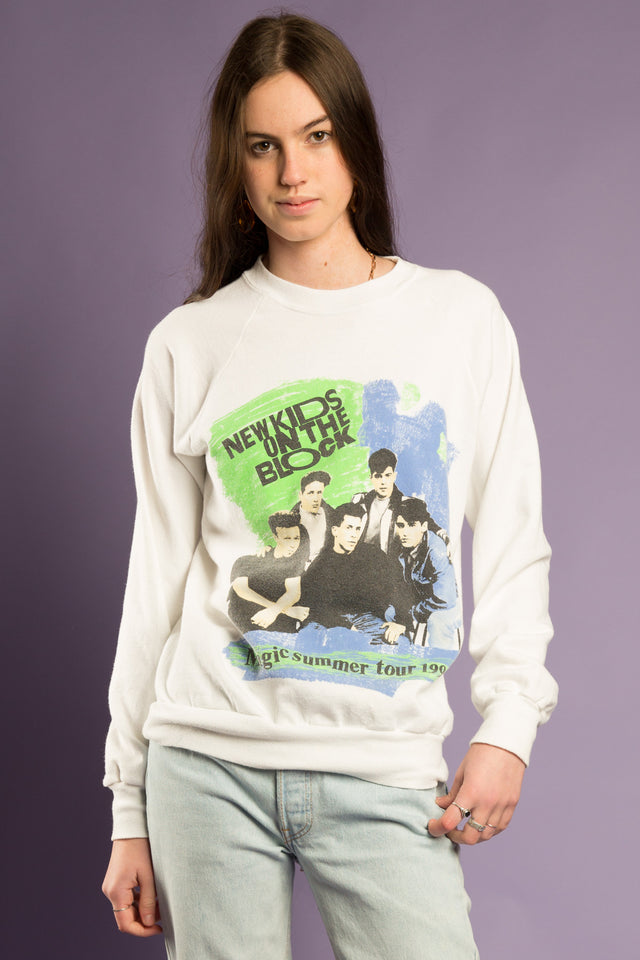 New Kids on the Block 1990 Tour Sweater