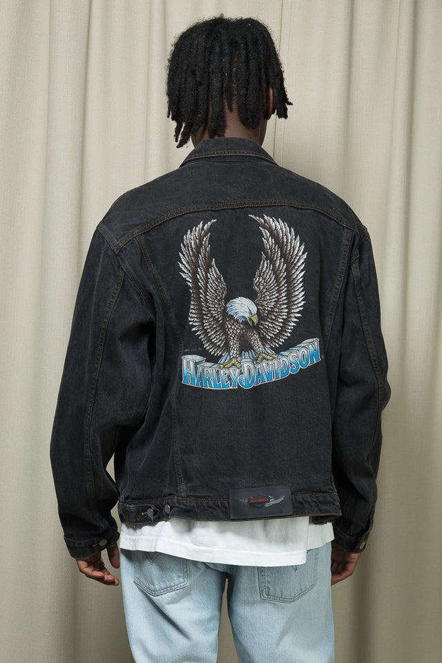 '87 Harley Davidson Denim Jacket