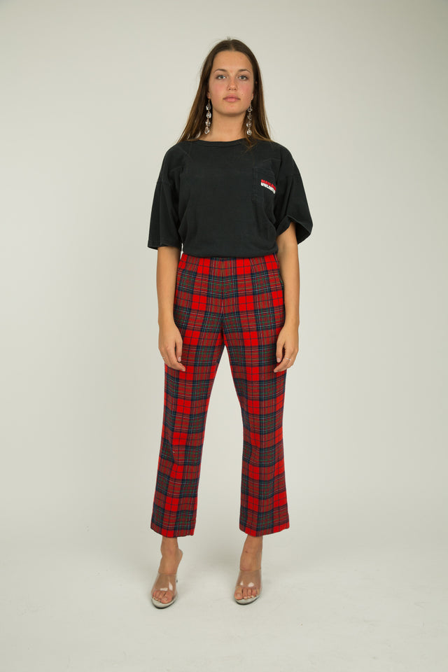 Dionne Plaid Pants