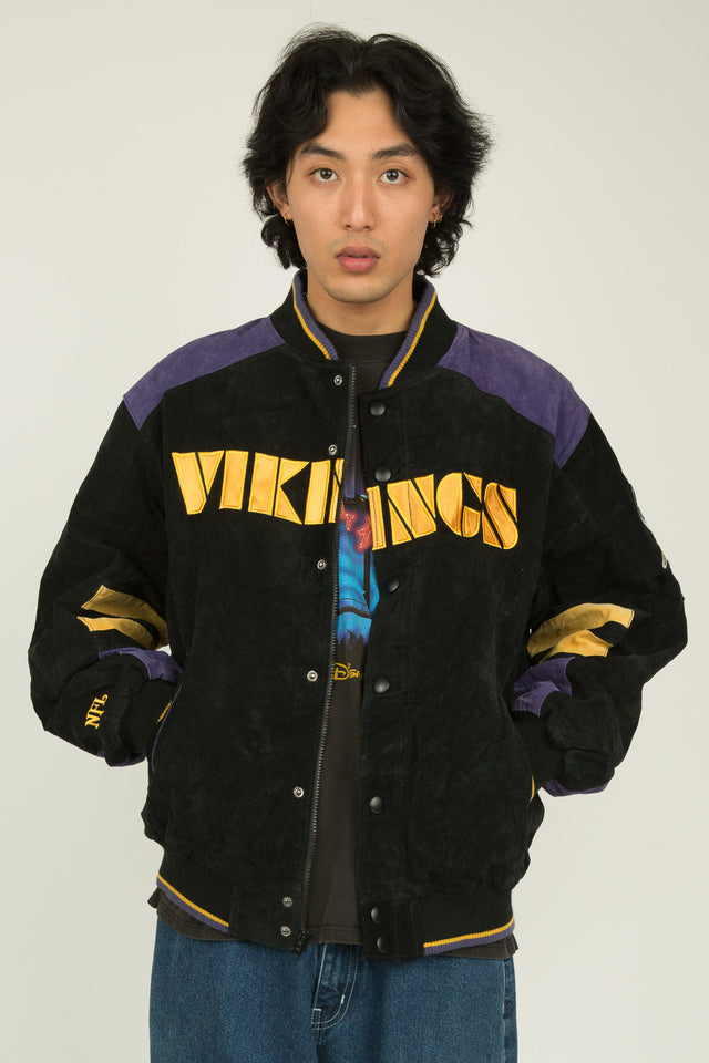 Vikings Suede Jacket