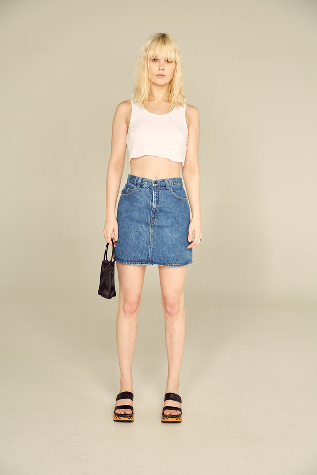 Cassie Denim Mini