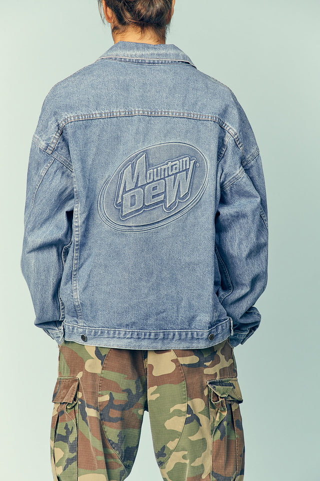 Mountain Dew Denim Jacket
